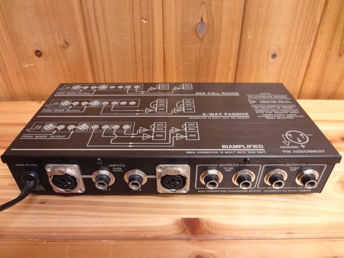 BOSE PAスピーカー ペア 802-II システムコントローラー802-C カバー付き_画像9