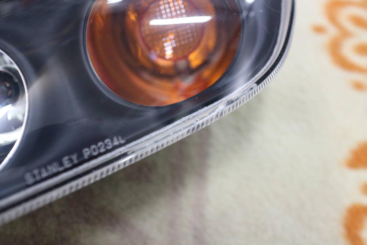大阪発 RX-7 FD3S 純正左フロントウィンカー・スモールレンズ 後期型フロントバンパーウィンカー レンズ STANLEY P0234L_画像2