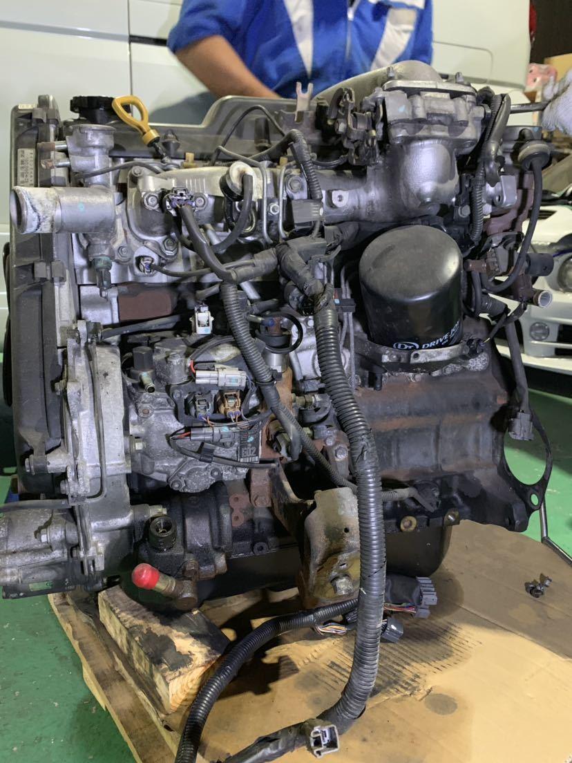 ☆大阪発☆ハイエース KZH 1KZ 4WD 2WD 軽油 ディーゼルエンジン ターボ付き 燃料ポンプ付き 100系 修理ベースでいかがでしょうか_画像4