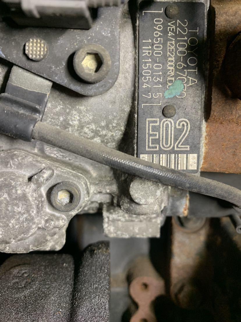☆大阪発☆ハイエース KZH 1KZ 4WD 2WD 軽油 ディーゼルエンジン ターボ付き 燃料ポンプ付き 100系 修理ベースでいかがでしょうか_画像10