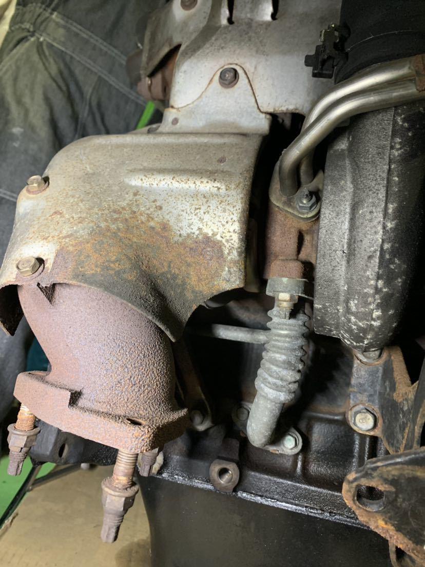 ☆大阪発☆ハイエース KZH 1KZ 4WD 2WD 軽油 ディーゼルエンジン ターボ付き 燃料ポンプ付き 100系 修理ベースでいかがでしょうか_画像8