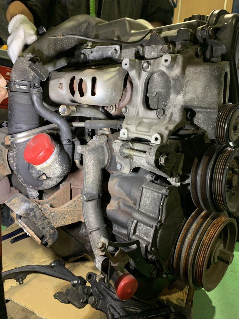 ☆大阪発☆ハイエース KZH 1KZ 4WD 2WD 軽油 ディーゼルエンジン ターボ付き 燃料ポンプ付き 100系 修理ベースでいかがでしょうか_画像7