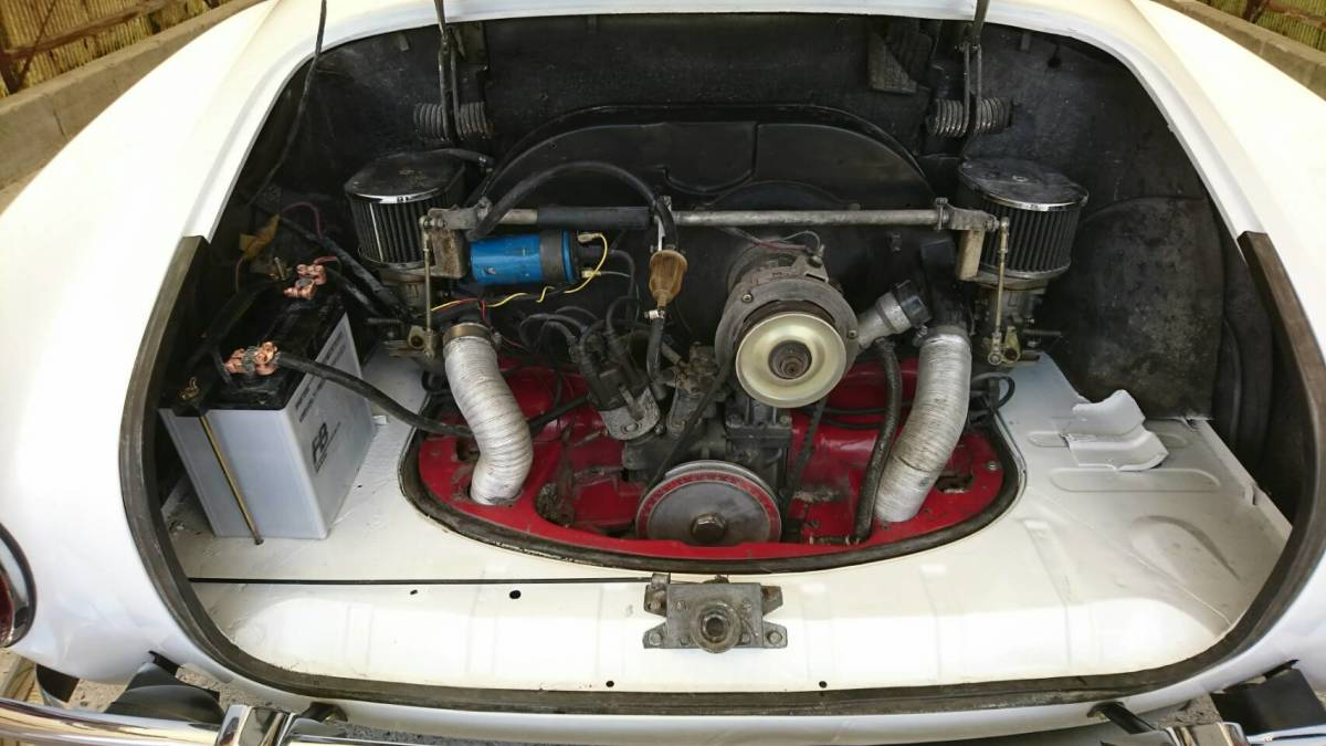 「1968y フォルクスワーゲン カルマンギア VW Karmann Ghia 空冷ワーゲン」の画像2