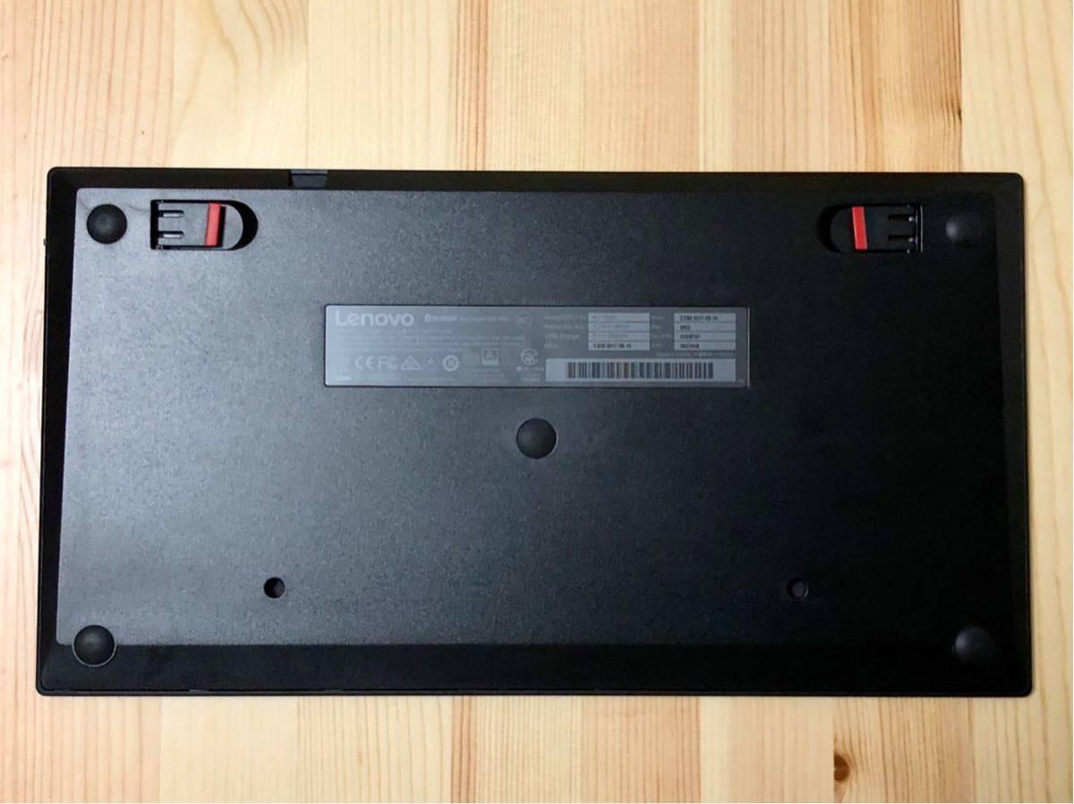 【ほぼ新品】ThinkPad Bluetooth ワイヤレス・トラックポイント・キーボード 日本語 【送料無料】_画像7