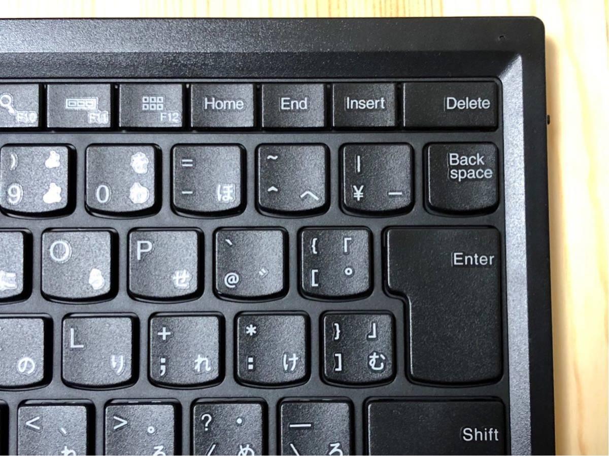 【ほぼ新品】ThinkPad Bluetooth ワイヤレス・トラックポイント・キーボード 日本語 【送料無料】_画像6
