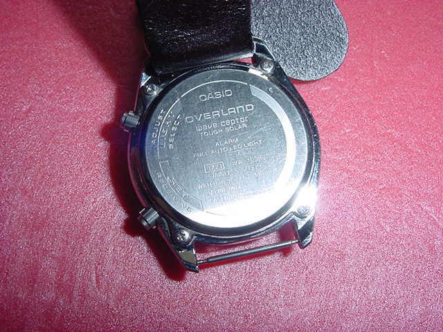 必要充分な機能を備えた CASIO OVW-100BJ 腕時計 ①_画像5