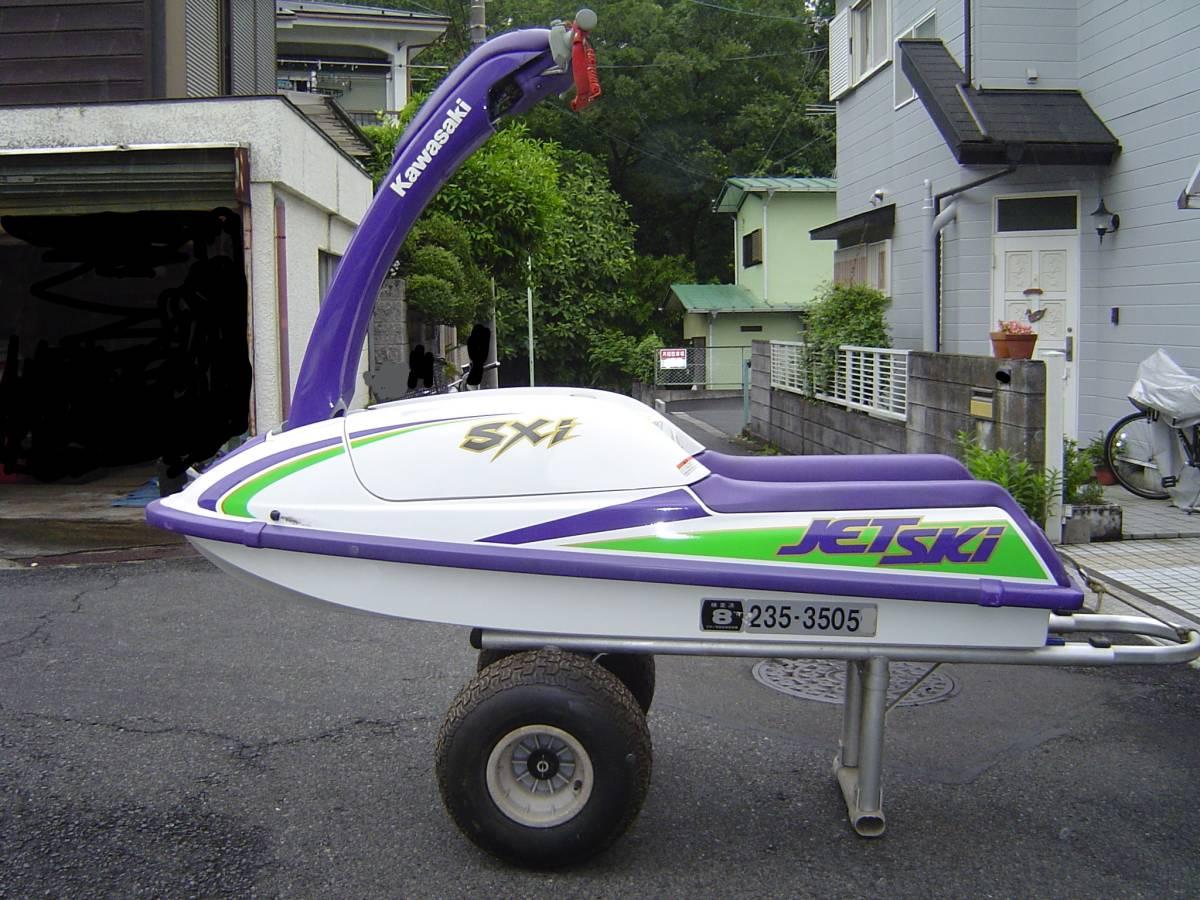 カワサキ ジェットスキー JS750B SXi ランチャーセット FACTORY ZERO ファクトリーゼロ KAWASAKI JET SKi _画像4