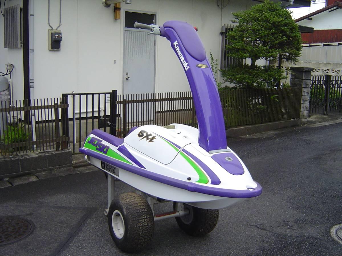 カワサキ ジェットスキー JS750B SXi ランチャーセット FACTORY ZERO ファクトリーゼロ KAWASAKI JET SKi _画像3