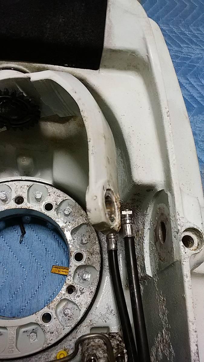 ボルボペンタ トタンサムシールド<DP290Aとセットされた品> 諏訪湖淡水使用 長期室内保管品 腐食微小_画像4