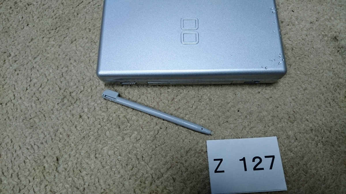 任天堂 Nintendo ニンテンドー DS Lite USG-001 本体 のみ グロスシルバー タッチペン 携帯 ゲーム ゲームボーイ アドバンス ソフト可_画像4