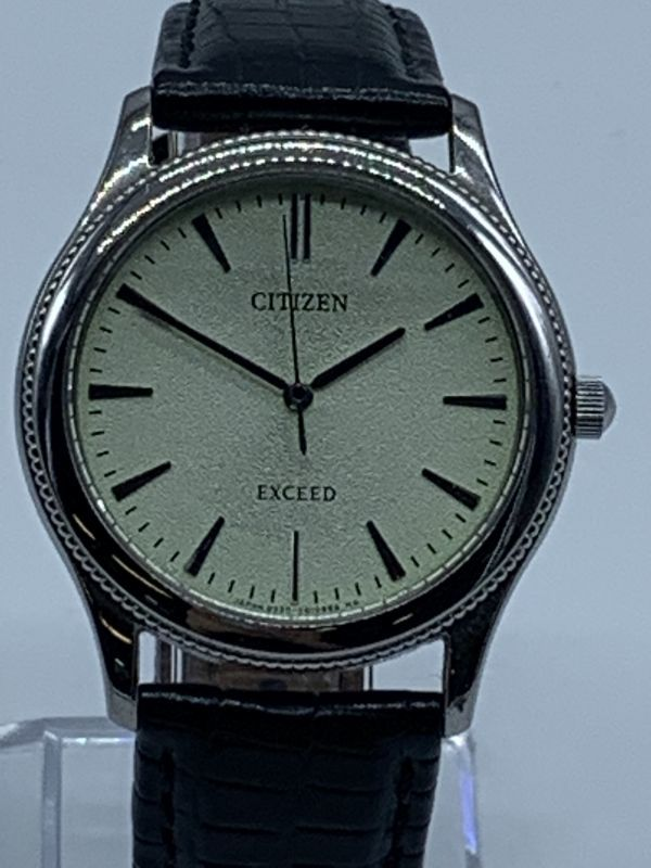 S704-144/MY3000 CITIZEN EXCEED DURATECT シチズン エクシード 腕時計_画像3