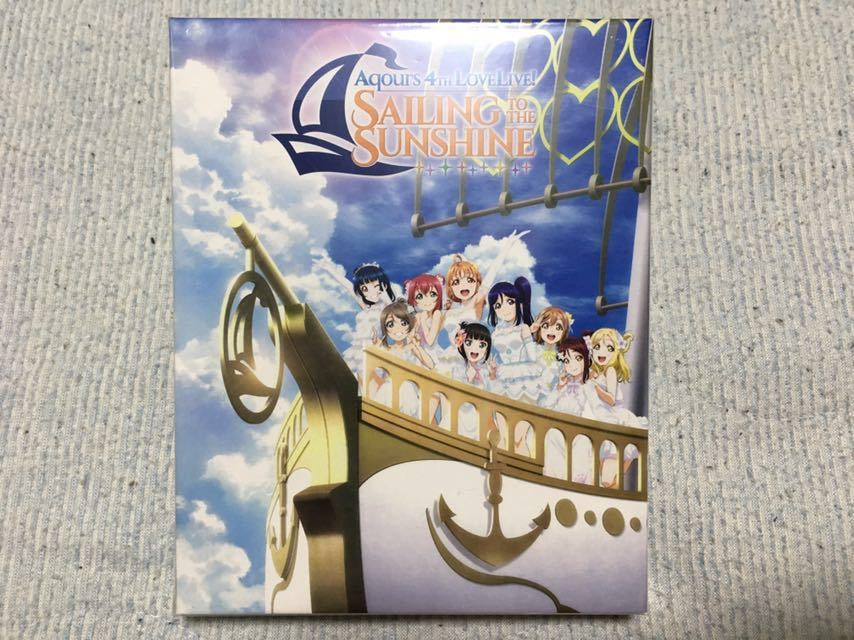 Aqours LoveLive! Blu-ray First / 2nd / 3rd / 4th / Saint Snow PRESENTS HAKODATE UNIT CARNIVAL Memorial Box 5巻セット 新品&中古美品_美品です。
