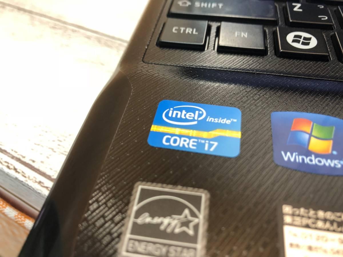 ★美品! ★新品SSD640GB☆Windows10☆爆速仕様★東芝 T551/W5◇Core i7-2.90GHz(ターボ♪)◇メモリ8GB◎Office Online/Blu-ray/USB3.0/_画像4