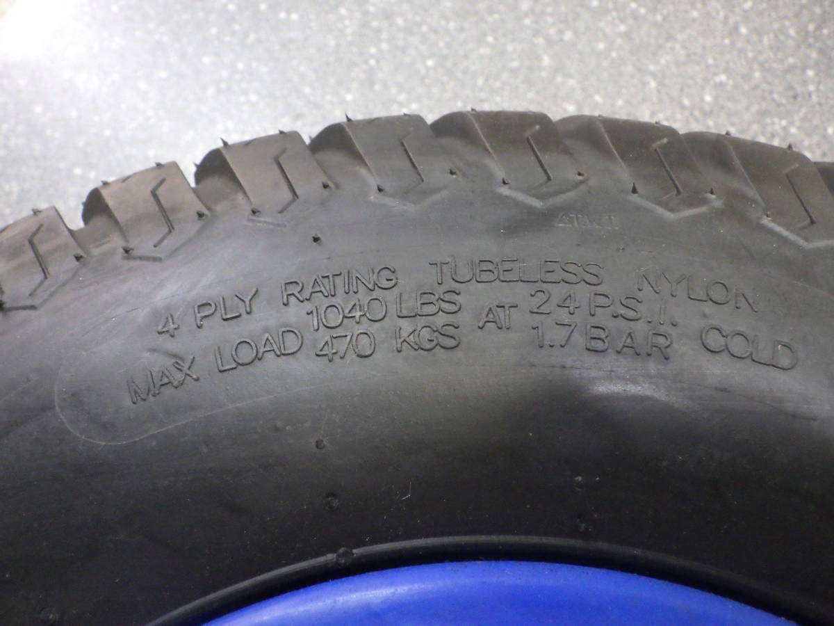 ジェットスキー 移動スタンド タイヤホイールセット 補修用に! 18×9.50―8 1本 複数在庫有り! SJ X2 SX-R_画像5