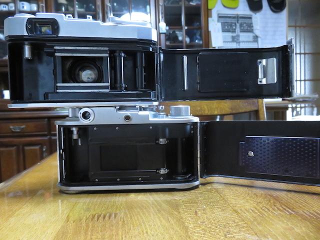 部屋のインテリアにどうでしょうか。トプコン35S、ミノルタ35 全てレンジファインダーカメラの紹介でございます。 _画像7