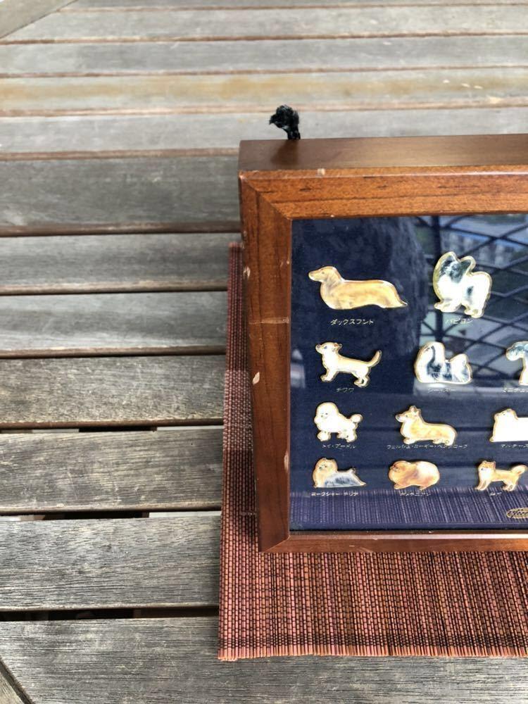 動物病院専用非売品 ファイザー製薬 プレミアム ピン バッチ 世界の25種類の犬のピンバッチ_画像2