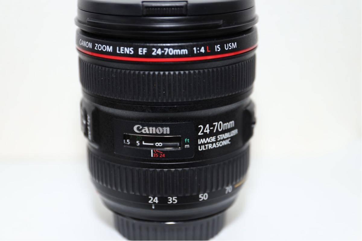 【大人気レンズ 最落無し1円スタート】☆極上美品☆ Canon キャノン EF 24-70mm F4 L IS USM_画像2