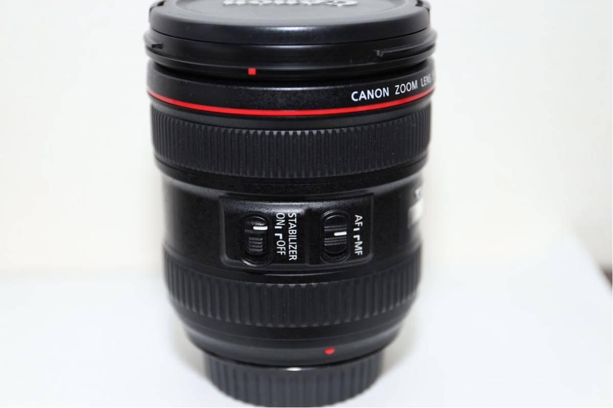 【大人気レンズ 最落無し1円スタート】☆極上美品☆ Canon キャノン EF 24-70mm F4 L IS USM_画像3
