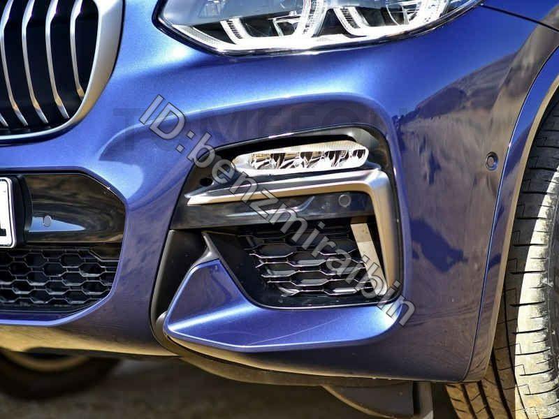 車 自動車 カバー スタイリング Bmw X3 G01 M スポーツ 2018 ABS フロント ランプ ライト トリム フォグ ランプ ライト グリル_画像1