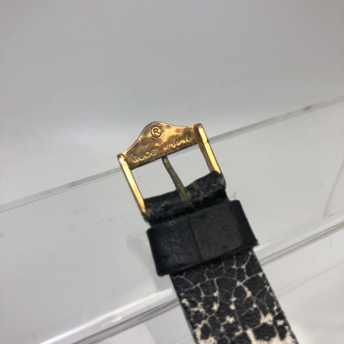 大人気 GUCCI グッチ オールドグッチ シェリーライン 腕時計 ヴィンテージ _画像6
