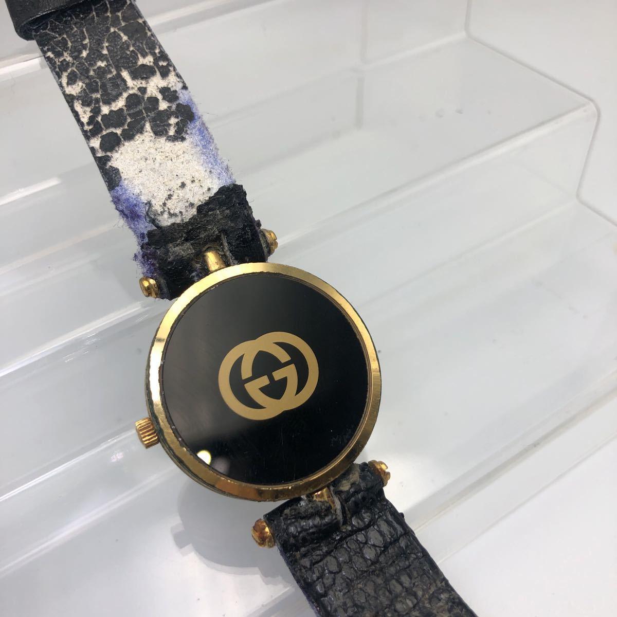 大人気 GUCCI グッチ オールドグッチ シェリーライン 腕時計 ヴィンテージ _画像5