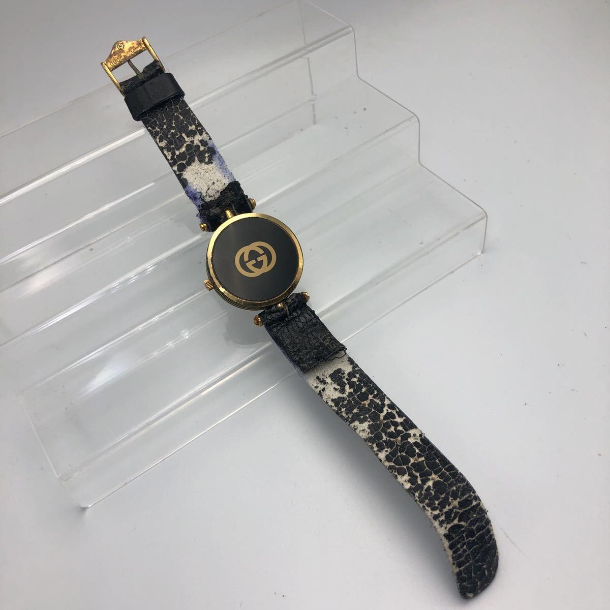 大人気 GUCCI グッチ オールドグッチ シェリーライン 腕時計 ヴィンテージ _画像4