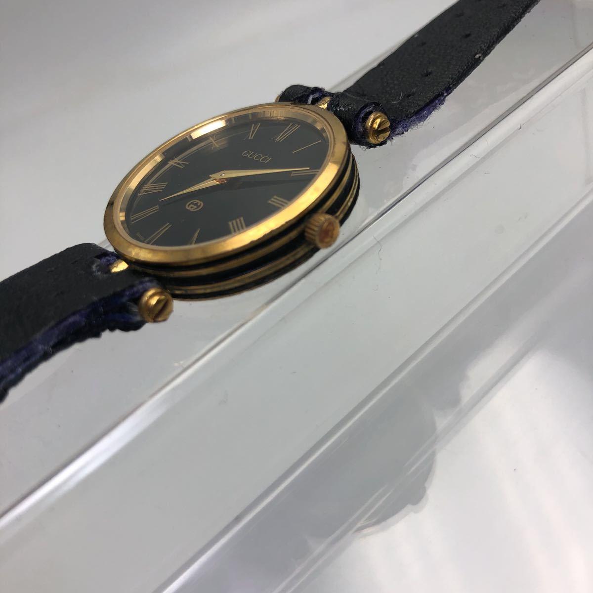 大人気 GUCCI グッチ オールドグッチ シェリーライン 腕時計 ヴィンテージ _画像7