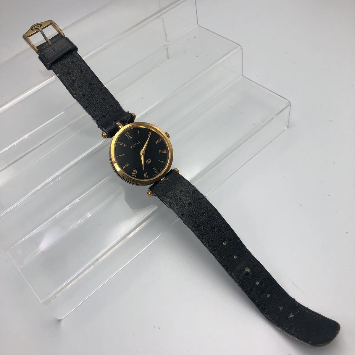 大人気 GUCCI グッチ オールドグッチ シェリーライン 腕時計 ヴィンテージ _画像2