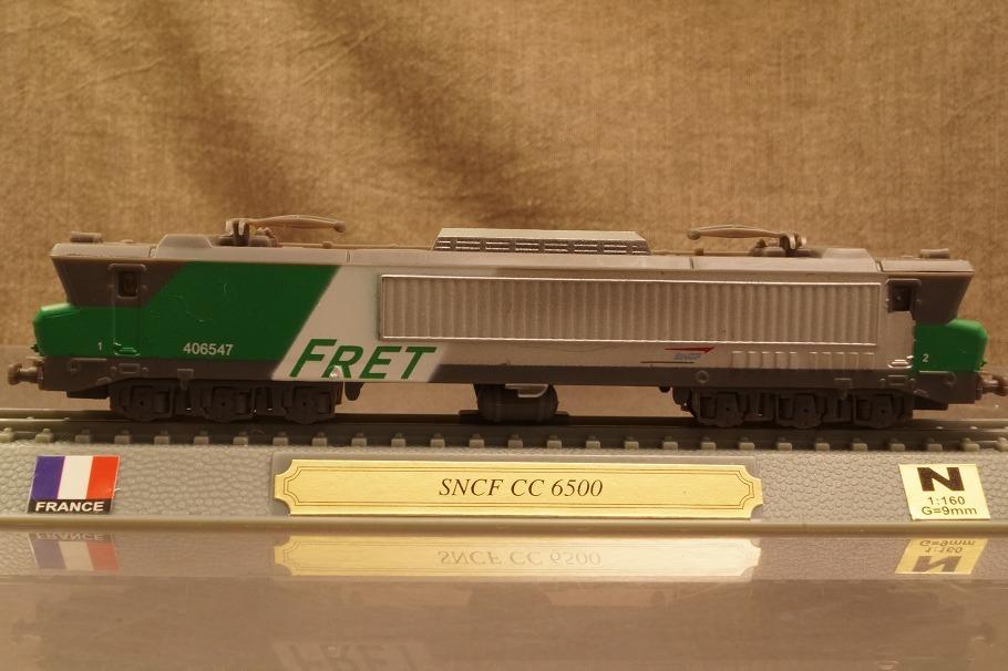 ★フランス国鉄 CC6500形電気機関車 1/160 985010_画像2