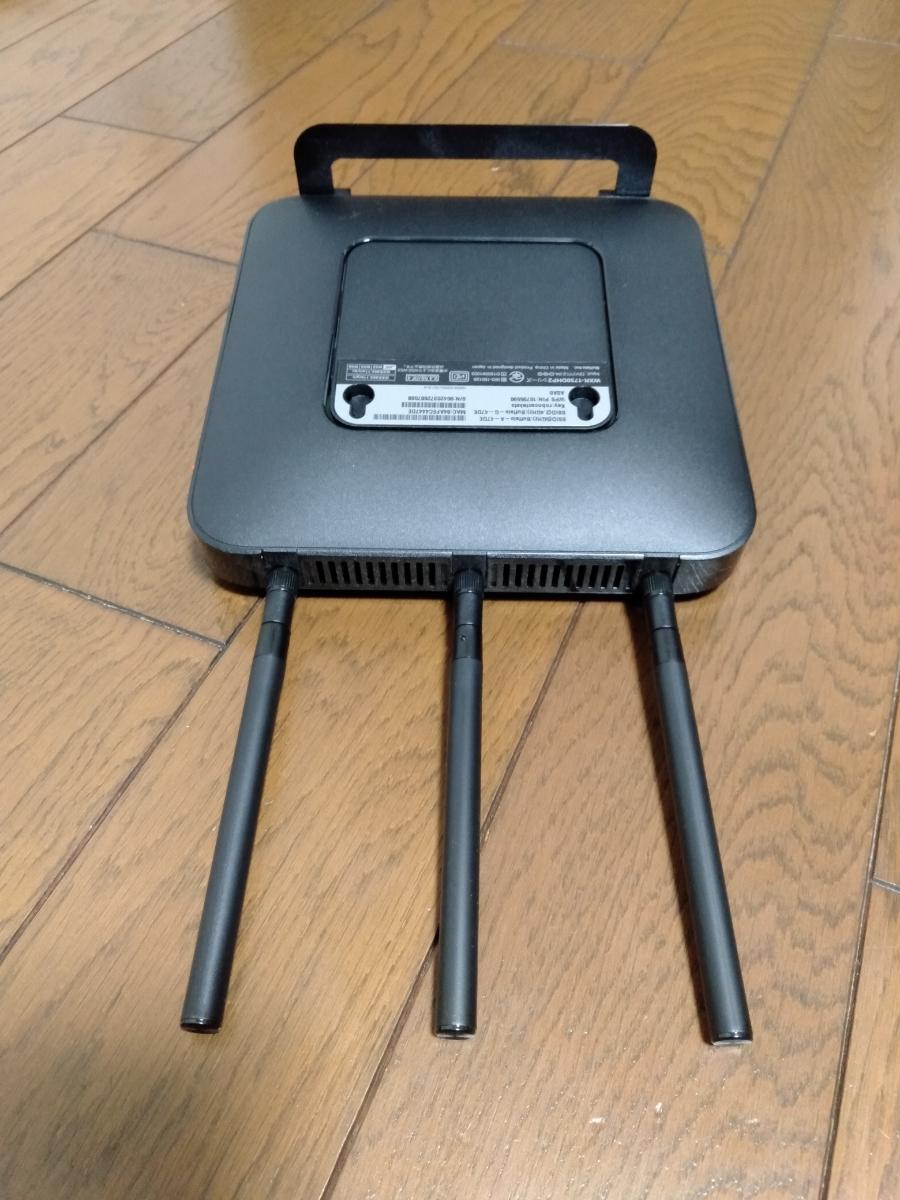 BUFFALO 無線LAN親機 無線LANルーター WXR-1750DHP2 Wi-Fiルーター _画像4