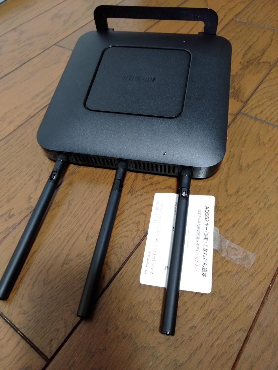 BUFFALO 無線LAN親機 無線LANルーター WXR-1750DHP2 Wi-Fiルーター _画像9