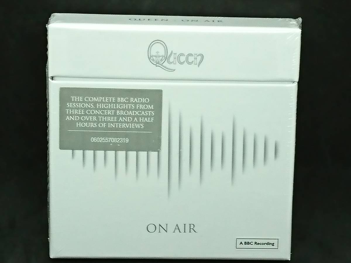 QUEEN ON AIR クイーン オンエア BBC録音 BBC Sessions 6枚組 6CD