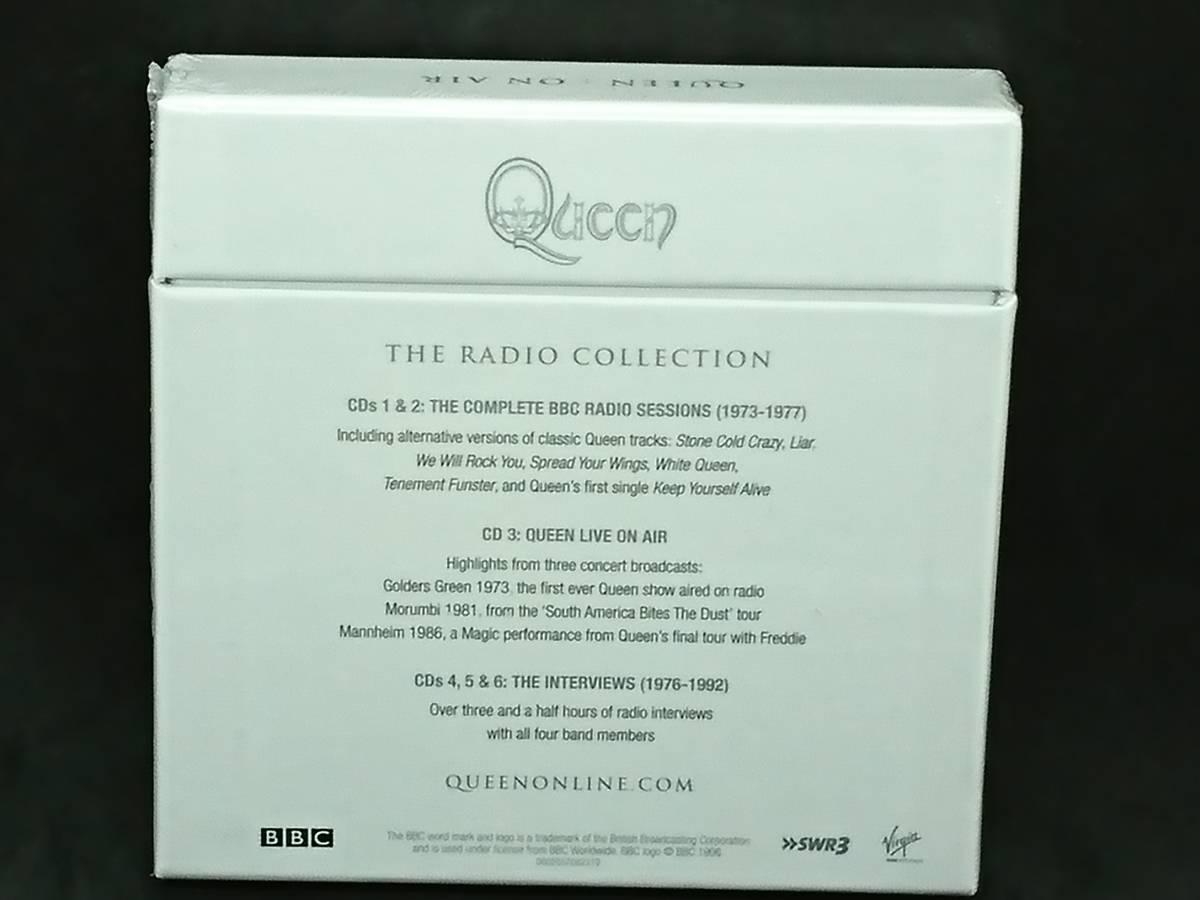 QUEEN ON AIR クイーン オンエア BBC録音 BBC Sessions 6枚組 6CD_画像2
