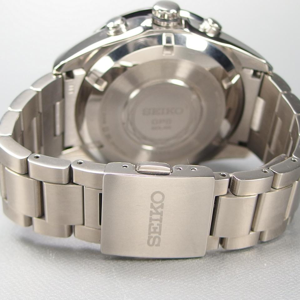 【美品 定価20万】 SEIKO セイコー ASTRON アストロン SBXA003 X52-0AA0 GPSソーラー 電波 チタンxセラミック メンズ 腕時計 ギャラ/BOX付_画像8