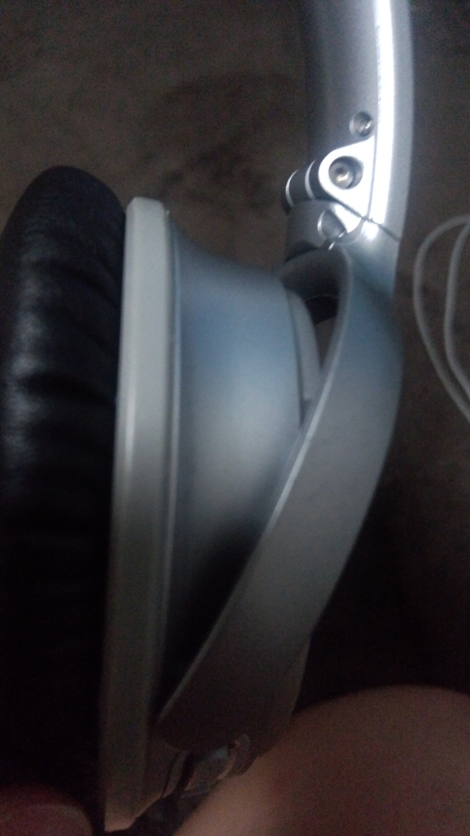 BOSE QuietComfort Wireless headphones Bluetooth silver ノイズキャンセリング 中古 _画像7