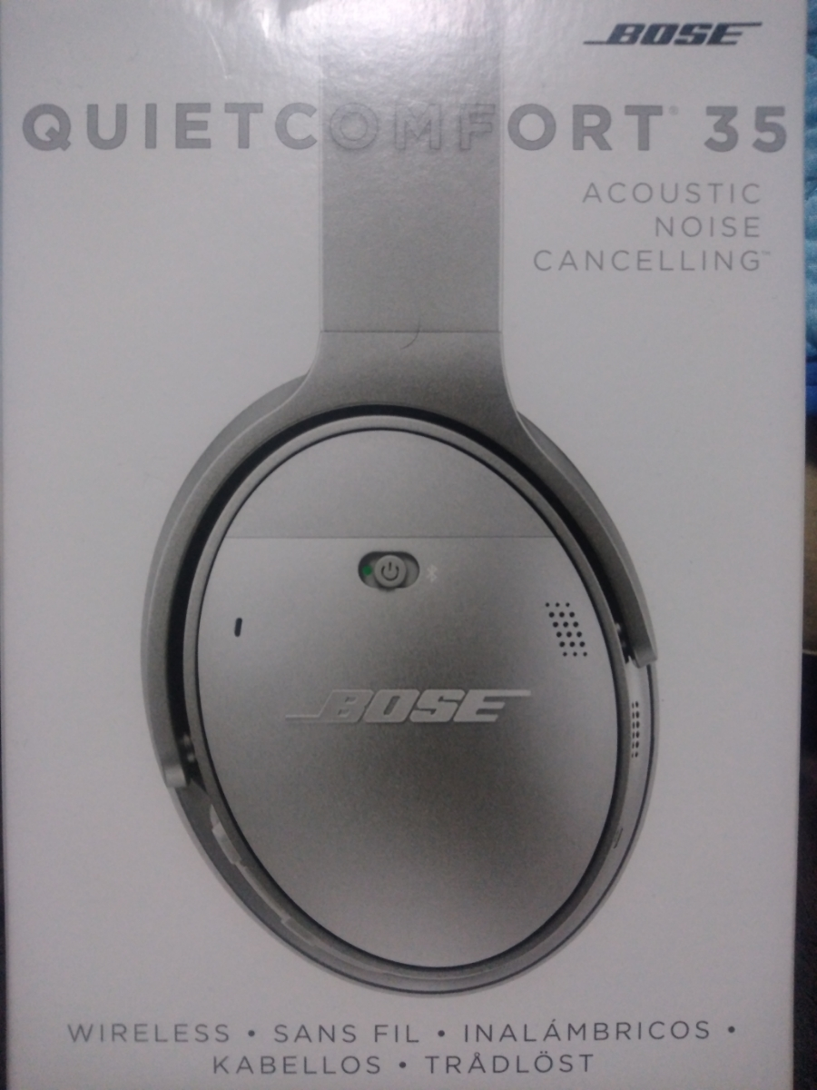 BOSE QuietComfort Wireless headphones Bluetooth silver ノイズキャンセリング 中古