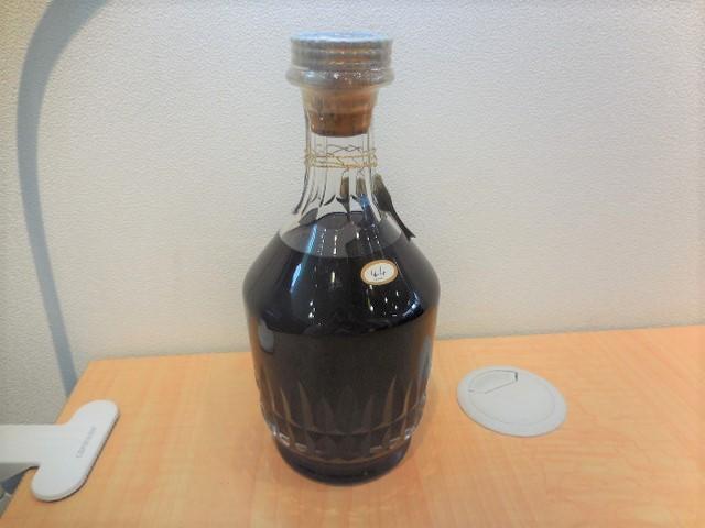 Hennessy ヘネシー EXTRA エクストラ バカラボトル 替栓 袋 箱付き 【未開栓】 #24080_画像5