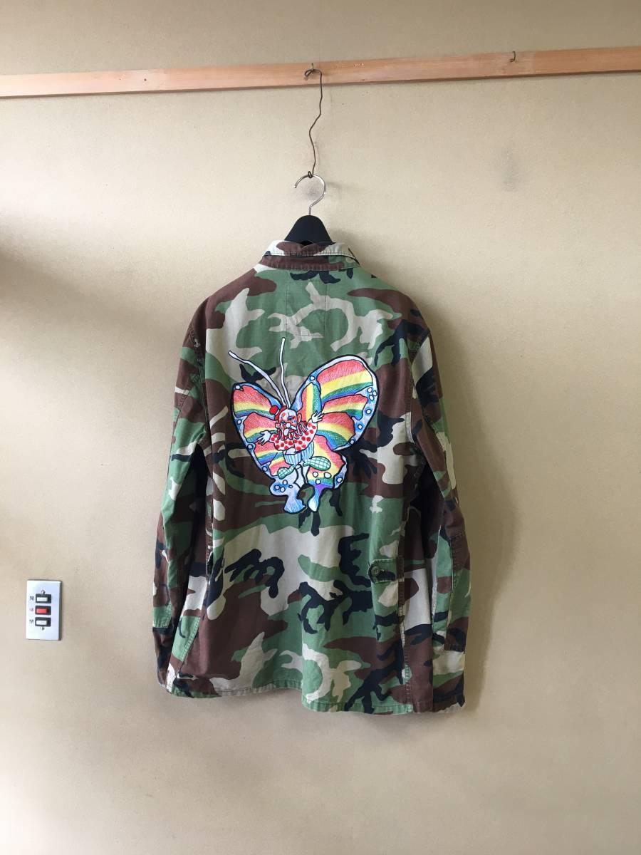 【Supreme/シュプリーム】Gonz Butterfly BDU Jacket CAMO sizeL ゴンズ バタフライ ミリタリージャケット マークゴンザレス 名作 希少