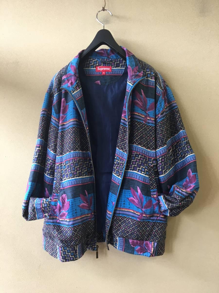 【Supreme/シュプリーム】Silk Bomber Jacket sizeM シルク ボンバージャケット Embroidery Logo 刺繍ロゴ 窪塚着 JasonDill着用 _画像4