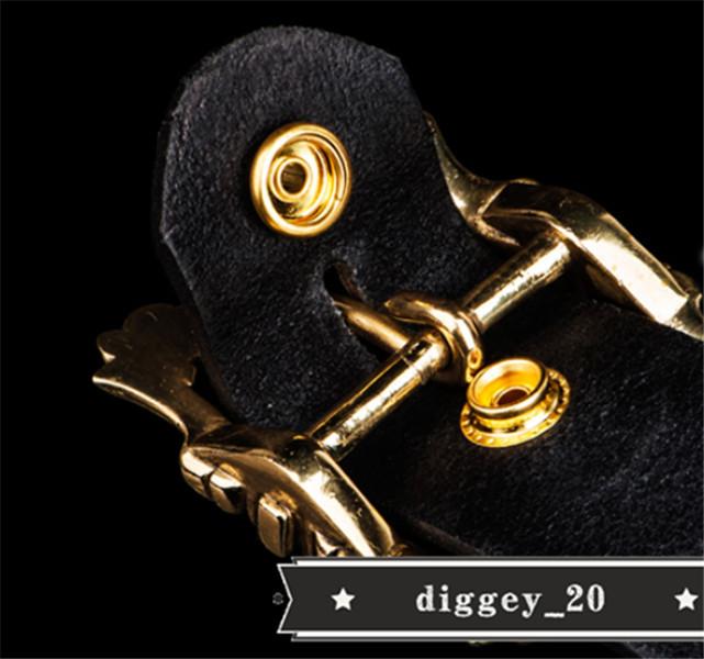 トップレイヤー牛革ベルト 純銅 エンボス加工 本革 ベルト メンズ カジュアル 復古 本革ベルト 個性 _画像8