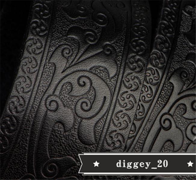 トップレイヤー牛革ベルト 純銅 エンボス加工 本革 ベルト メンズ カジュアル 復古 本革ベルト 個性 _画像4
