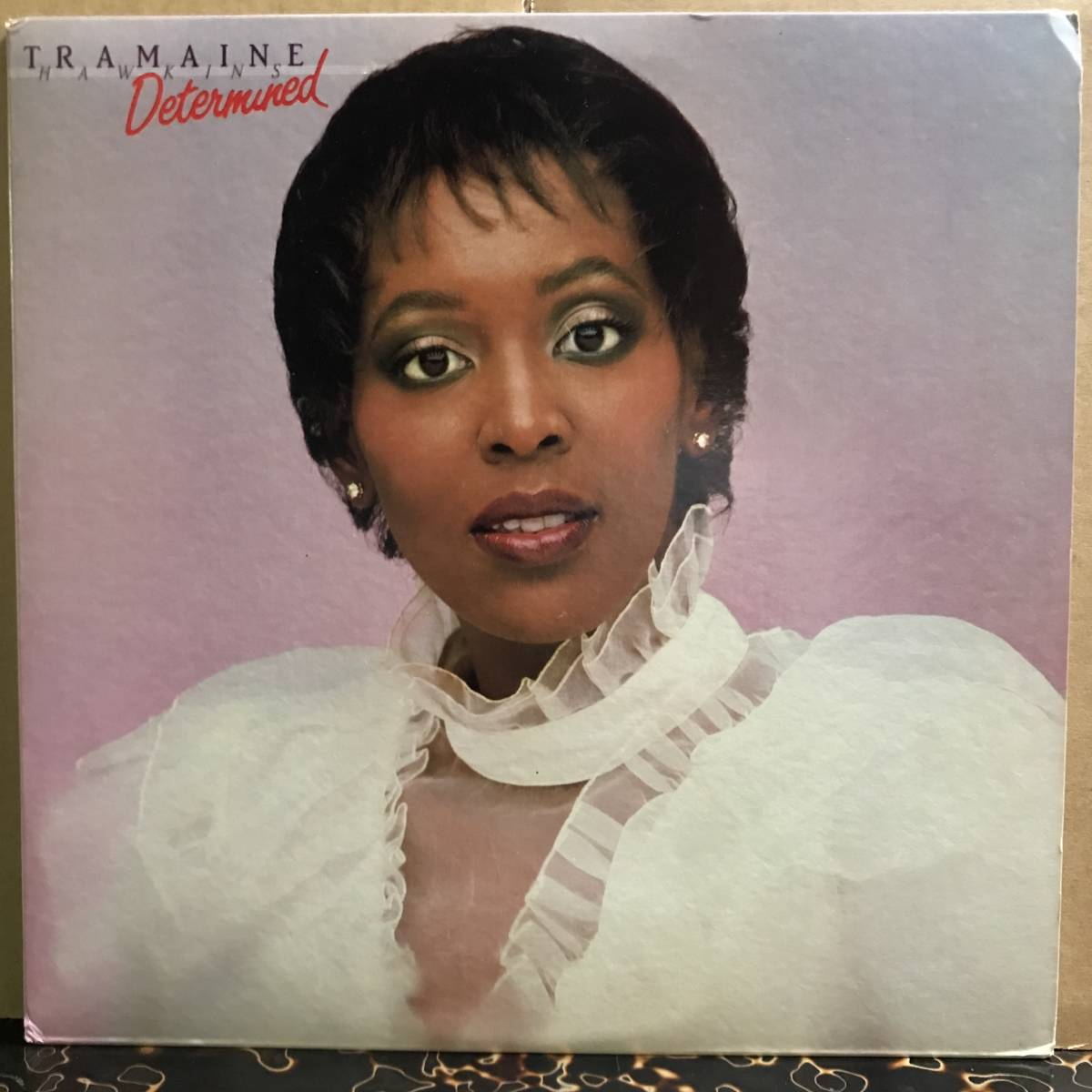 LP★Tramaine Hawkins - Determined /1983 US オリジナル