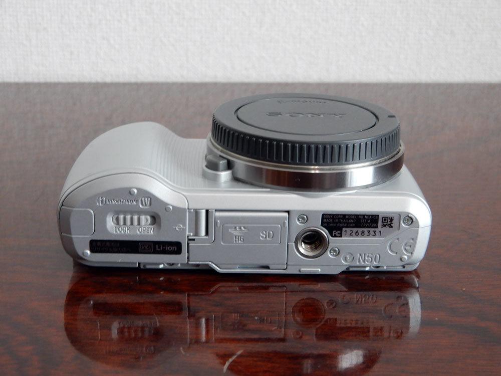 1円~Sony【 NEX-C3 】ミラーレス一眼 ボディ 動作確認済み 最低落札価格なし_画像5
