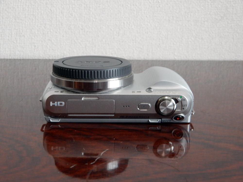 1円~Sony【 NEX-C3 】ミラーレス一眼 ボディ 動作確認済み 最低落札価格なし_画像4