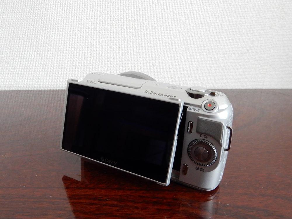 1円~Sony【 NEX-C3 】ミラーレス一眼 ボディ 動作確認済み 最低落札価格なし_画像2