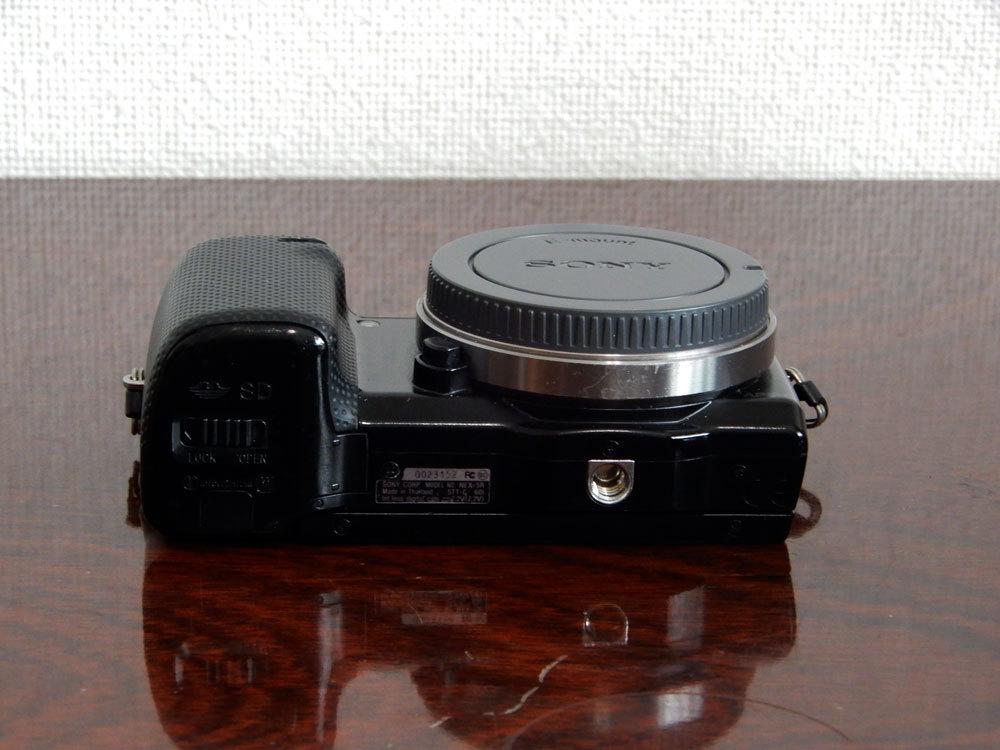 1円~Sony【 NEX-5R 】ミラーレス一眼 ハイビジョン動画 ボディ 動作確認済み 最低落札価格なし_画像5