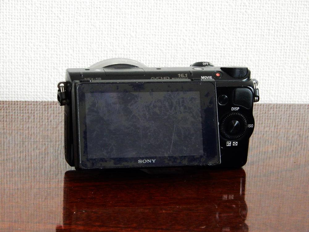 1円~Sony【 NEX-5R 】ミラーレス一眼 ハイビジョン動画 ボディ 動作確認済み 最低落札価格なし_画像2