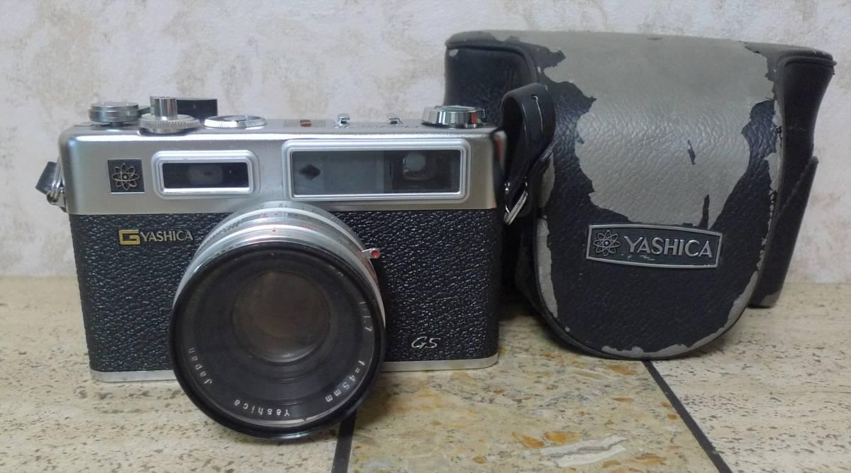 ★☆☆★YASHIKA ヤシカ フイルムカメラ ELECTRO 35 f=45mm 1:1.7 ★☆☆★
