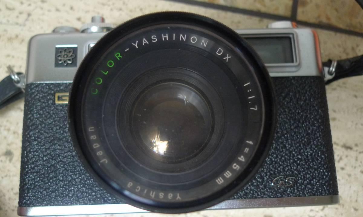 ★☆☆★YASHIKA ヤシカ フイルムカメラ ELECTRO 35 f=45mm 1:1.7 ★☆☆★_画像4