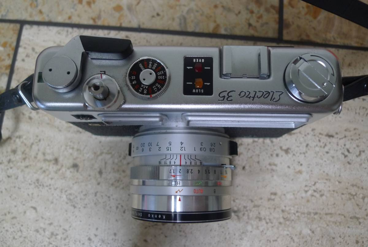 ★☆☆★YASHIKA ヤシカ フイルムカメラ ELECTRO 35 f=45mm 1:1.7 ★☆☆★_画像3